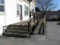 handicap ramp before